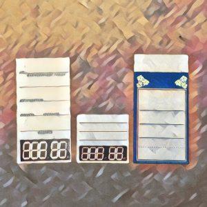 Ценники картонные
