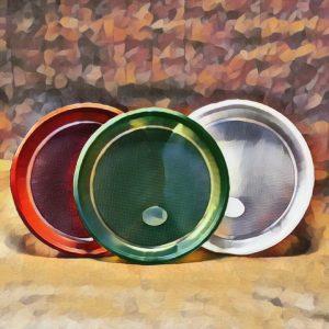 Одноразовые тарелки десерт Д-170