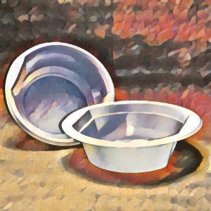 Одноразовые суповые тарелки